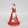 Статуэтка Казачка в танце 21 см, полноцвет (ручная роспись) 54159