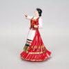 Статуэтка Казачка в танце 21 см, полноцвет (ручная роспись) 54159 87090