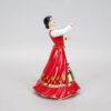 Статуэтка Казачка в танце 21 см, полноцвет (ручная роспись) 54159 87092