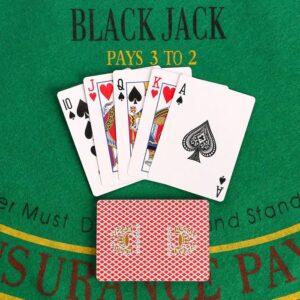 Карты для покера бумажные, 54 шт, 290 гр/м2 55616