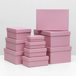 Коробка розовая 55770