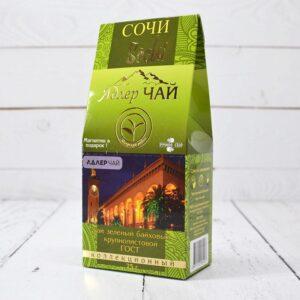 Чай зеленый байховый 75 г. Адлер Чай 53230