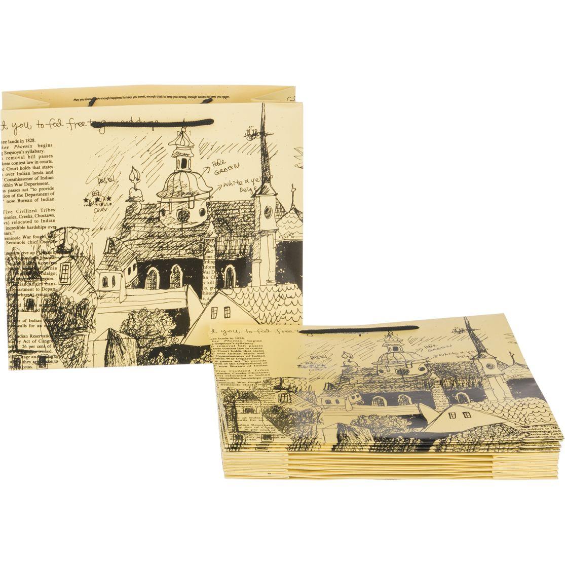 Пакет бумажный 30*27*12 см 49748