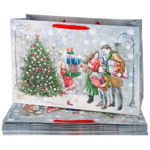 """Бумажный пакет """"Новый год"""" 60*40*23 см 57663"""
