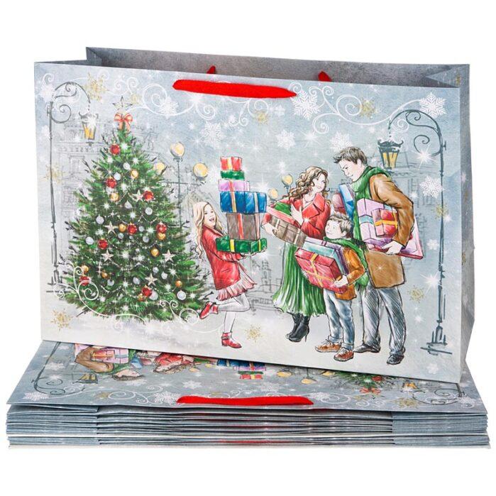 Пакеты новогодние