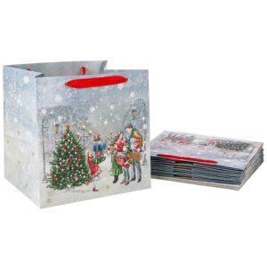 """Бумажный пакет """"Новый год""""  30*30*25 см 57666"""