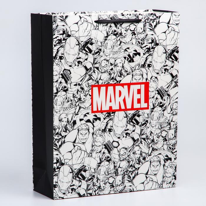 """Пакет """"Marvel"""", 31х40х11 см, Marvel 56053"""