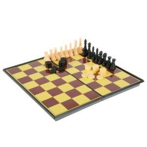 Игра настольная 3 в 1: шашки, шахматы, нарды 41627