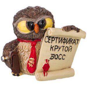 """Сова """"Крутой босс"""" 53333"""