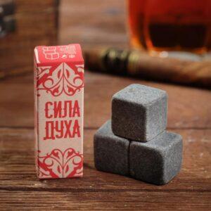 "Набор камней для виски ""Сила духа"", 3 шт 56060"