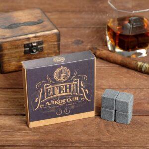 """Набор камней для виски """"Легенда"""", 4 шт 56068"""