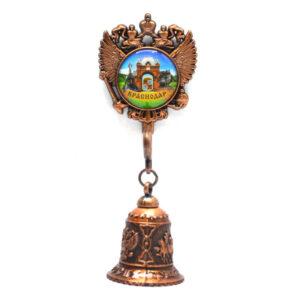 Колокольчик - магнит Екатерина святая, Триумфальнрая арка и Памятниу собачкам (медь) 57340