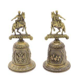 Колокольчик Кубань-Краснодар Казак (бронза) 46185
