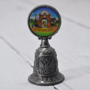 Колокольчик Екатерина святая, Триумфальнрая арка и Памятниу собачкам (серебро) 56366