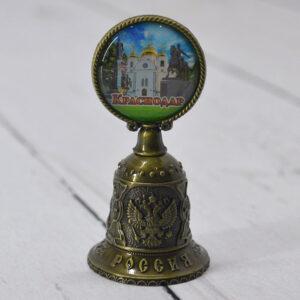Колокольчик Екатерина 2,собор А. Невского и Памятник Казачеству (бронза) 56368