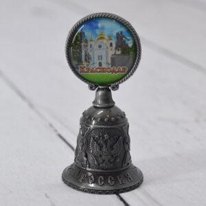 Колокольчик Екатерина 2,собор А. Невского и Памятник Казачеству (серебро) 56369