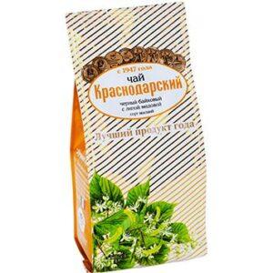 Чай черный с липой медовой 100 г. Краснодарский 46690