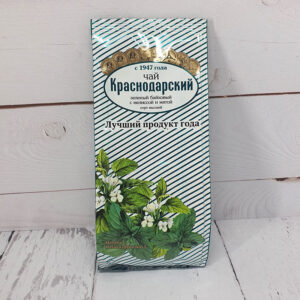 Чай зеленый байховый с мелиссой и мятой 100 г. Краснодарский 46683