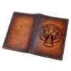 """Обложка на паспорт """"Тигриный оскал"""" 50695 83394"""