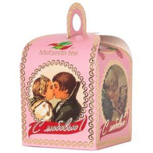 Чай черный байховый с бутонами и лепестками роз «С любовью», 50 г. Мацеста 46707