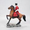 Кубанский казак на гнедном коне, полноцвет (ручная роспись) 54170 87124