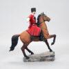 Кубанский казак на гнедном коне, полноцвет (ручная роспись) 54170 87125