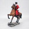Кубанский казак на гнедном коне, полноцвет (ручная роспись) 54170 87126