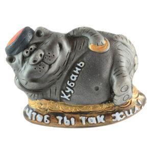 """Магнит кот """"Кубань"""" на деньгах 41746"""