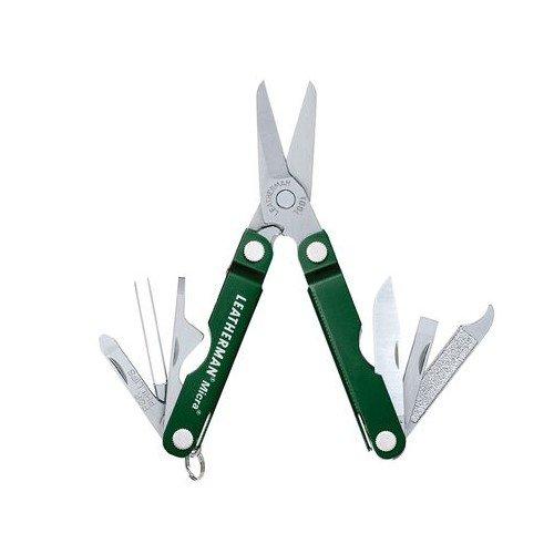 Мультитул Leatherman Micra, 10 функций, зеленый 64350181N 56103