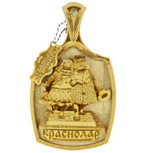 Доска 3Д Краснодар памятник Собачкам 42548