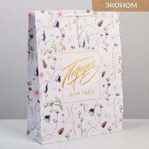 Пакет Gift for you, L 31 х 40 х 11,5 см 57080