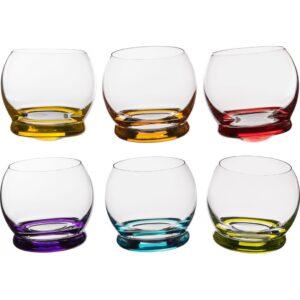 """Набор стаканов из 6 шт. """"CRAZY"""" 390 мл h-9 см. 47261"""