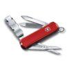 Нож-брелок Victorinox Nail Clip 580, 65 мм, 8 функций 0.6463