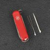 Нож-брелок Victorinox Nail Clip 580, 65 мм, 8 функций 0.6463 41035