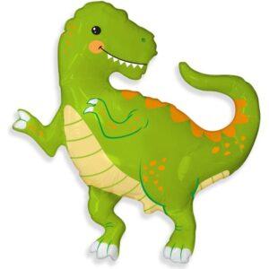 """Шар фольгированный 33"""" фигура """"Динозавр"""" 6987931 56228"""
