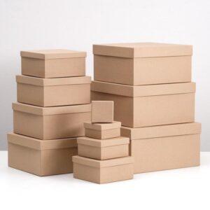 "Подарочная коробка ""Крафт однотонный"" 57378"