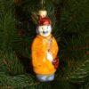 Игрушка на ёлку Почтальон (стекло) 51008