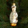 Игрушка на ёлку Почтальон (стекло) 51008 62201