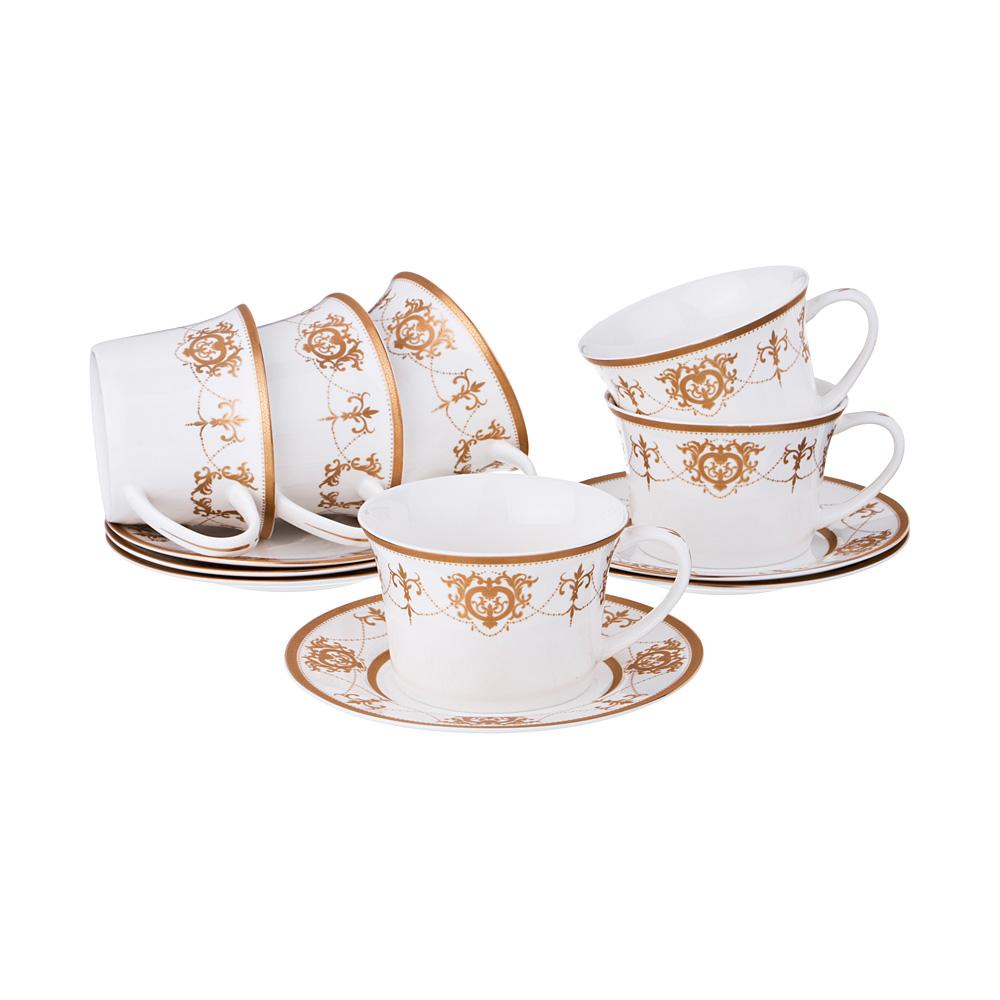 Кофейный набор на 6 персон 12 предметов 100 мл. 47282