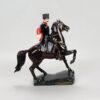 Кубанский казак на коне 25 см, полноцвет (ручная роспись) 54155