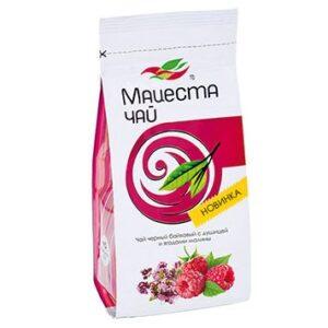 Чай черный байховый с душицей и ягодами малины 75 г. Мацеста 46929