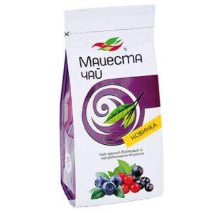 Чай черный байховый с натуральными ягодами 75 г. Мацеста 46930