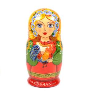 Матрешка-шкатулка Кубань 43650