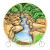 Тарелка Горная река 50247