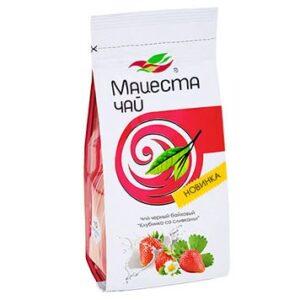 """Чай черный байховый """"Клубника со сливками"""" 75 г. Мацеста 46928"""