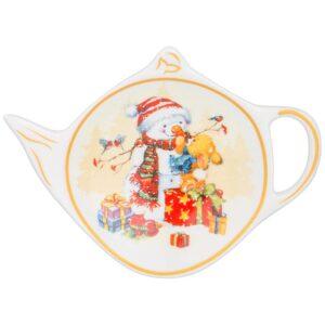 "Подставка для чайного пакетика ""Снеговик"" 57673"