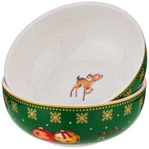 """Набор розеток """"Christmas collection"""", диаметр 10 см 57676"""