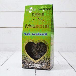"""Чай зеленый байховый """"LoveOrganic"""" 75 г. Горная Мацеста 55675"""