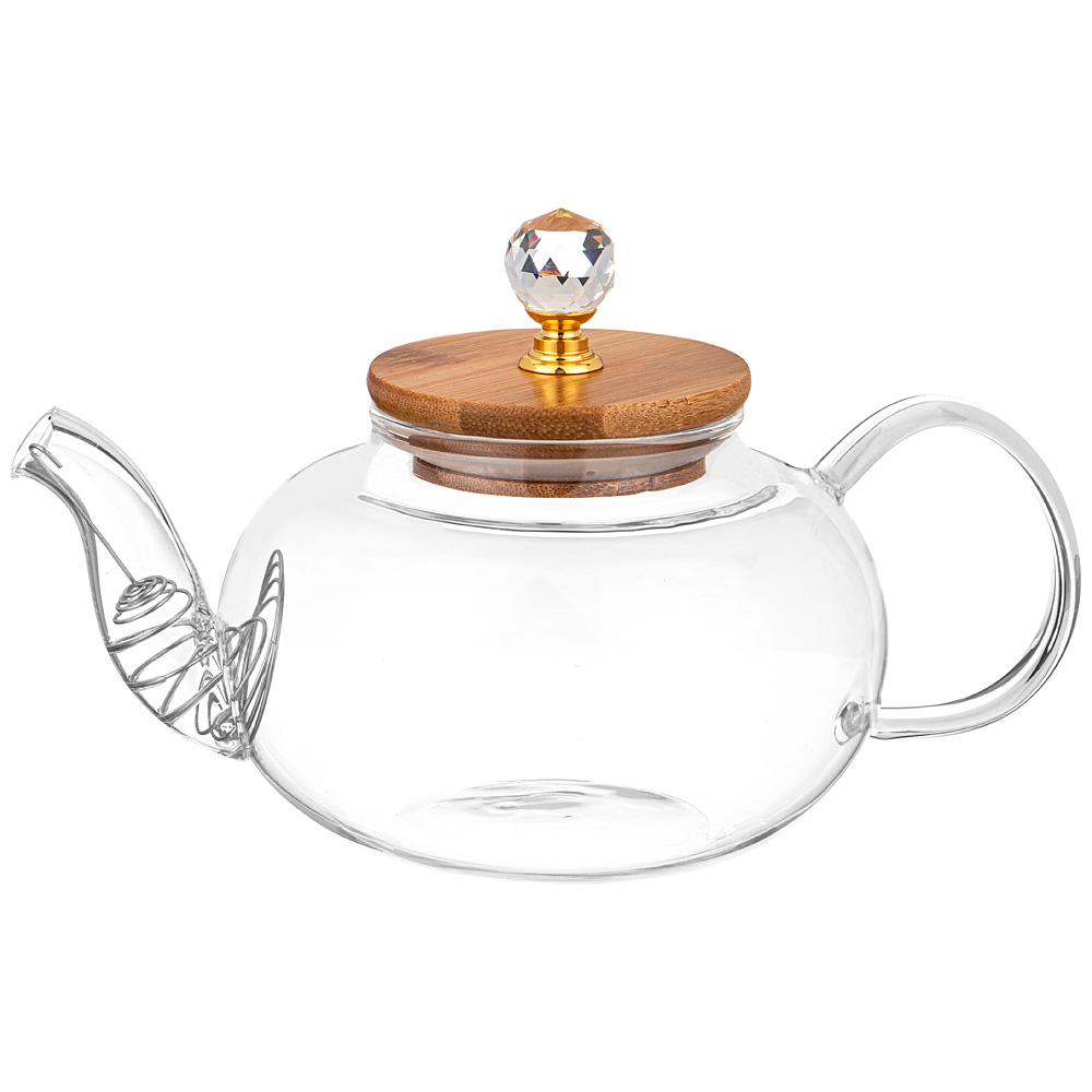 """Чайник заварочный """"Kristall"""" 800 мл 55845"""