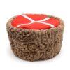 Кубанка натуральный каракуль коричневый 49188